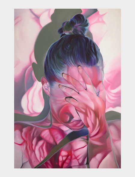 'Wallflower' limited edition time release print