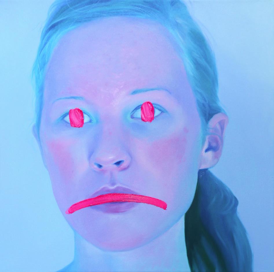 Blue Selfie - Jen Mann