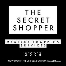 THE SECRET SHOPPER MYSTERY SHOPPING SERV