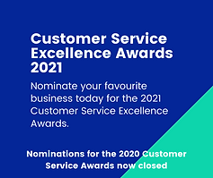 Customer Service Excellence Awards 2021.