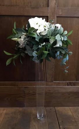 Floral conic centerpieces