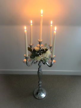 75cm Classic silver candelabra