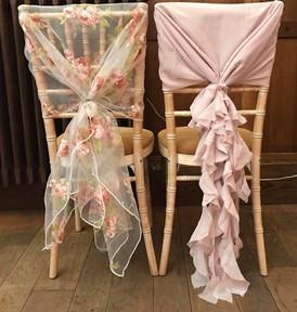 Chair hoods & ruffles