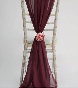 Vertical chair drapes