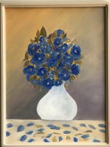 Arrangement In Blue