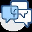 2134414 - bubble chat comment dialogue d