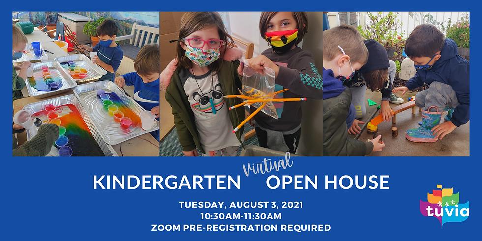 Kindergarten Virtual Open House
