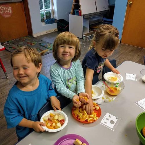 Preschool Cooking Camp #4_ Number Fruit