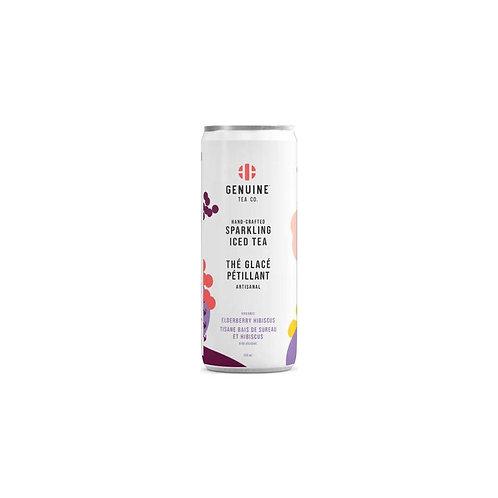 Organic Elderberry Hibiscus - Sparkling Iced Tea