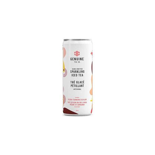 Organic Peach Tumeric Ceylon - Sparkling Tea
