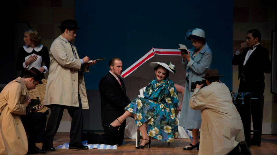 Janet in The Drowsy Chaperone at MiraCosta Theatre