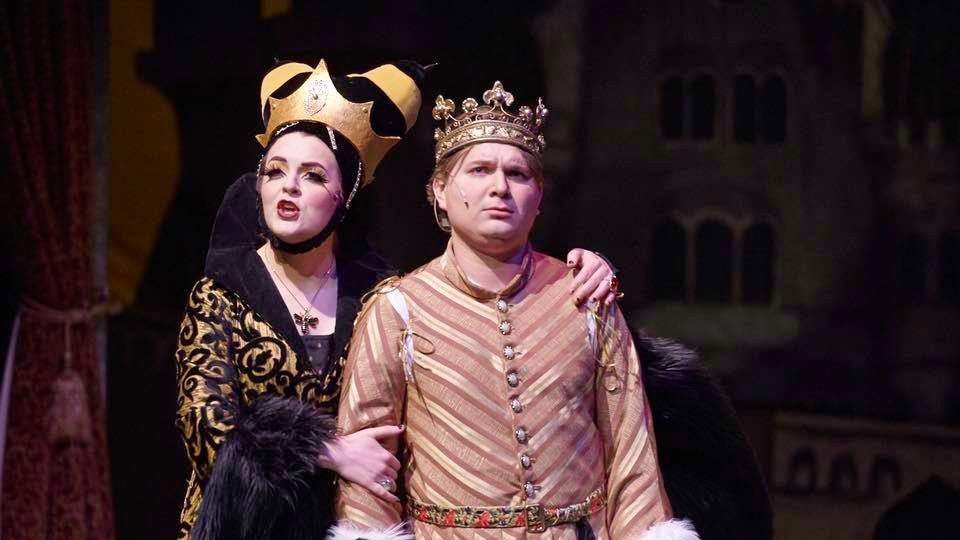 Queen Aggravain in Once Upon A Mattress at Utah State University