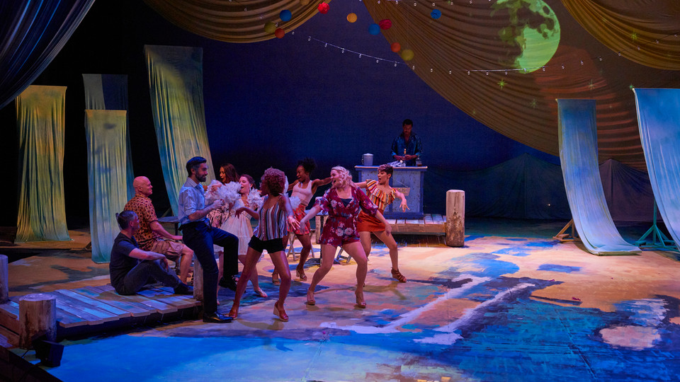 Ali in Mamma Mia at Lyric Rep