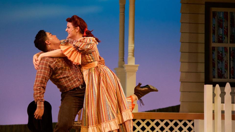 Ado Annie in Oklahoma! at MiraCosta Theatre