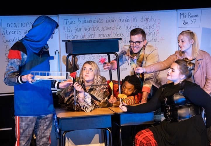The Nurse in Romeo & Juliet with Utah Shakespeare Festival's Educational Tour
