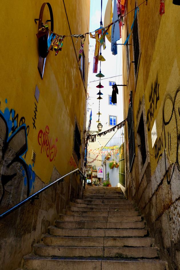 lisboa stair