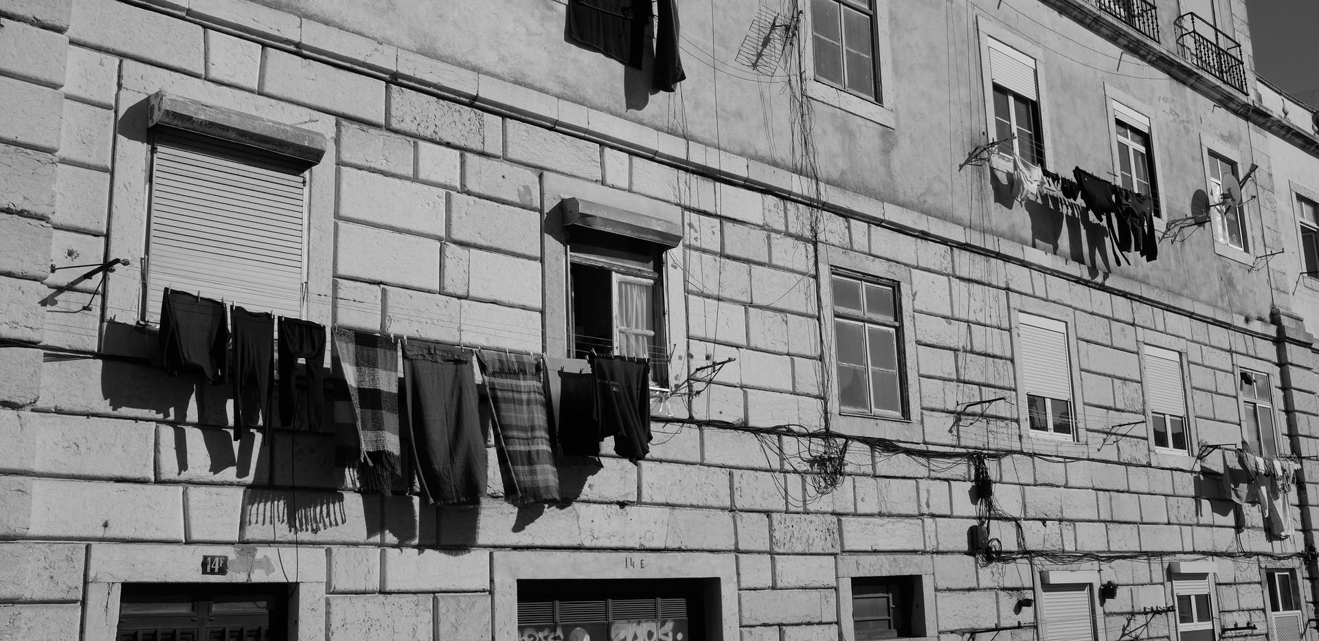 lisboa black and white