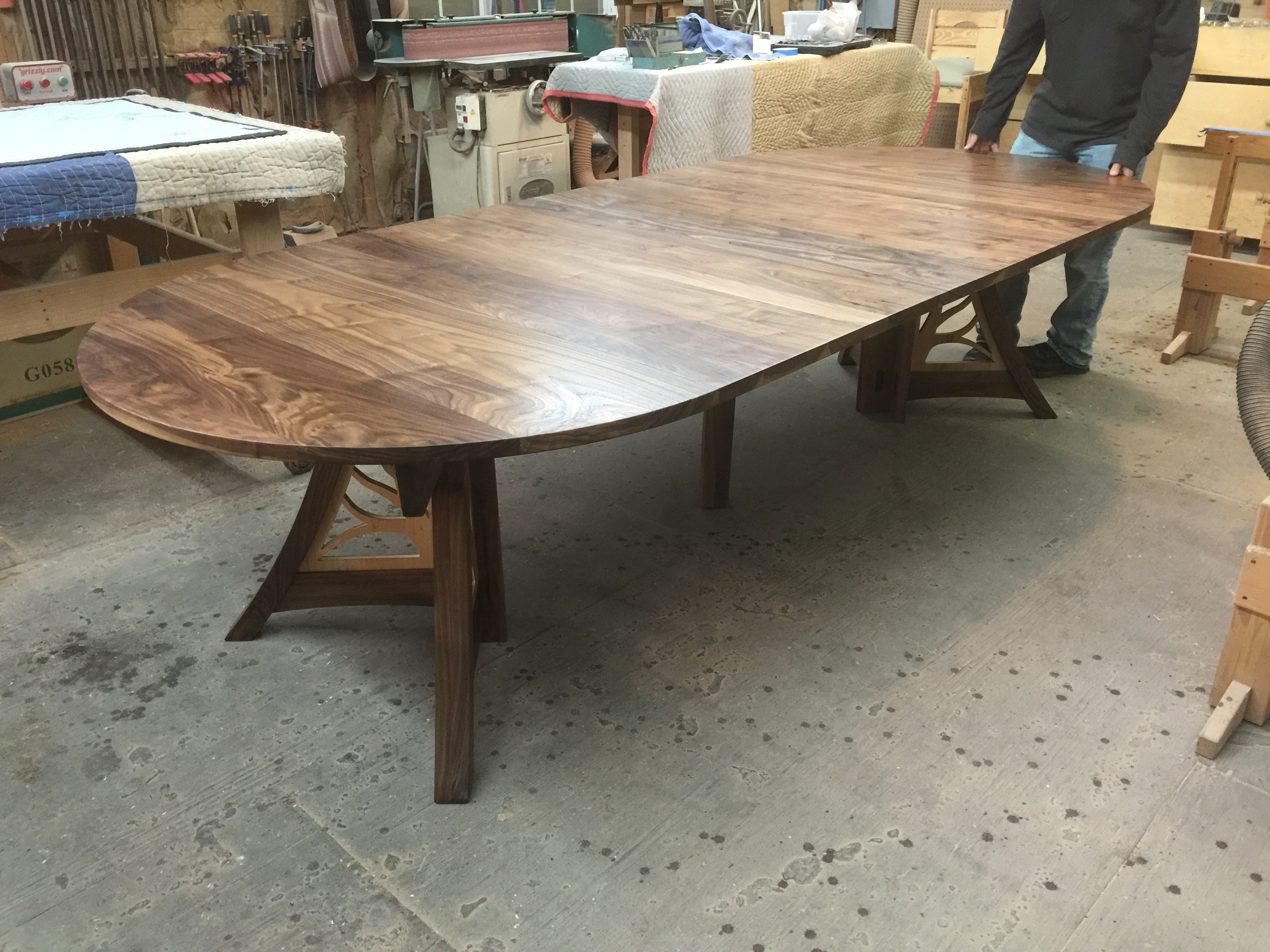 Giving Table in Walnut and Maple