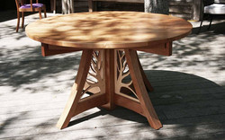 Giving Table in Cherry and Maple