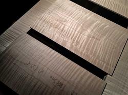 Edo Bed, Wood Selection