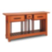 Edo Sideboard, a Japanese inspired sideboard, buffet, or sofa table