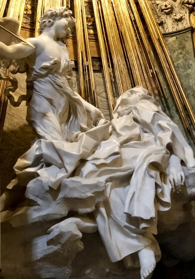 Bernini's St Teresa in Ecstasy