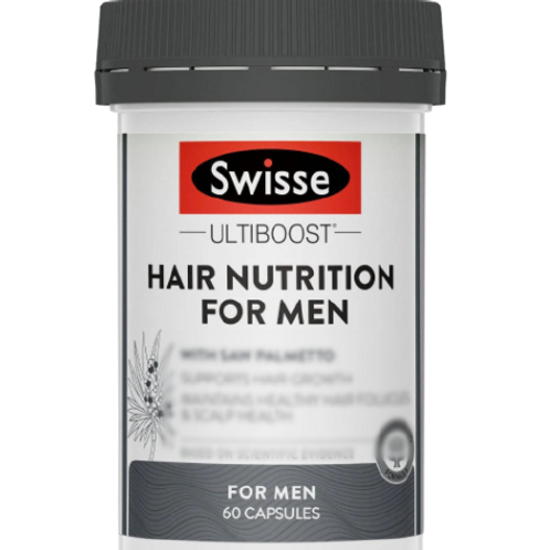 Swisse - 男士養髮營養膠囊 60粒