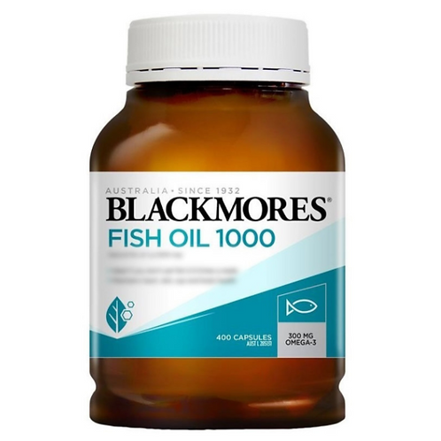 BLACKMORES - 原味魚油 400粒 (平行進口貨)