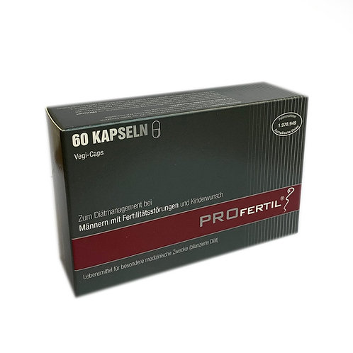 PROfertil - 男士營養補充膠囊 60粒裝 (海外阪) (平行進口貨)