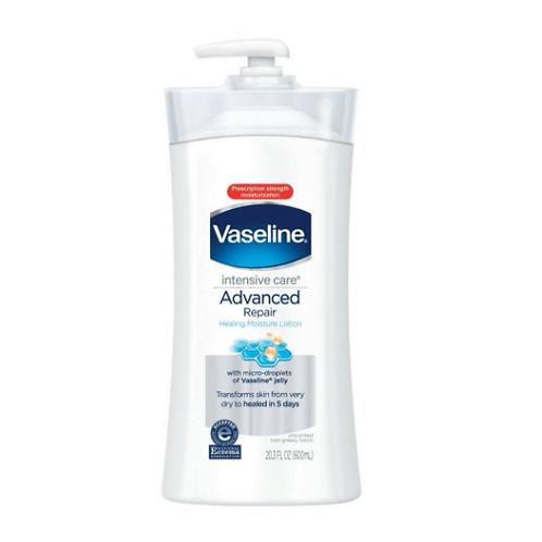 Vaseline - 凡士林 深層護理高級修復無香料乳液 600ml