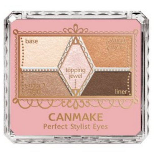 Canmake - 完美高效五色眼影 #02 自然啡 (平行進口貨)