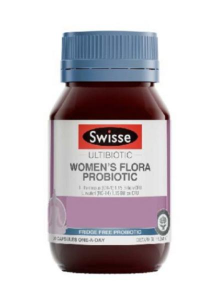 Swisse - 女性植物益生菌膠囊 30粒