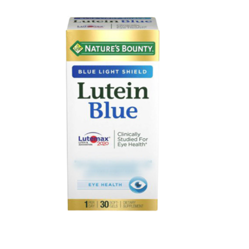 Nature's Bounty - 葉黃素和玉米黃素 30粒 (平行進口貨)