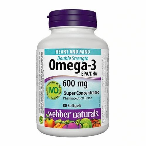 Webber Naturals - 超級濃縮魚油 80粒