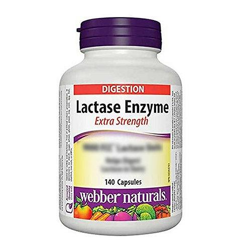Webber Naturals - 乳糖酶超強膠囊 140粒 (平行進口貨)