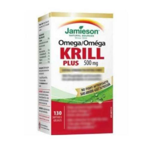 Jamieson - 全效增強型磷蝦油,130粒軟膠囊 (平行進口貨)