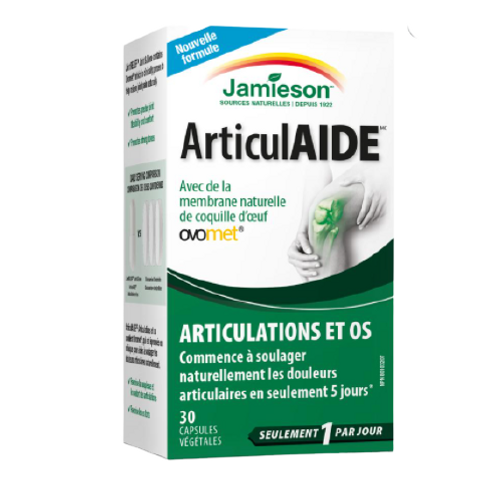 Jamieson - 天然蛋殼膜關節和骨骼30粒(平行進口貨)