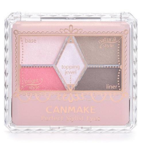 Canmake - 完美高效眼影 07桃粉紅 (平行進口貨)