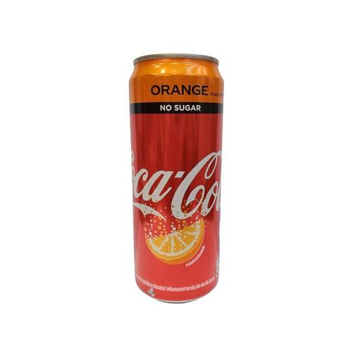 可口可樂 - 橙味汽水325ml (平行進口貨)