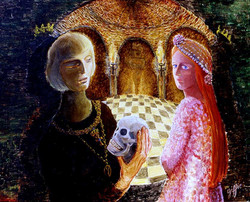 Hamlet et Ophélie