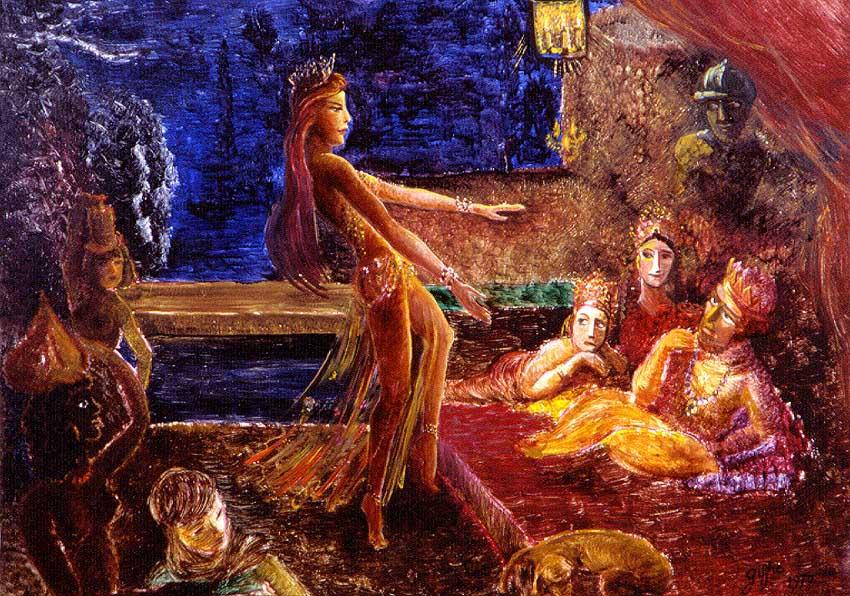 Hérode et Salomé