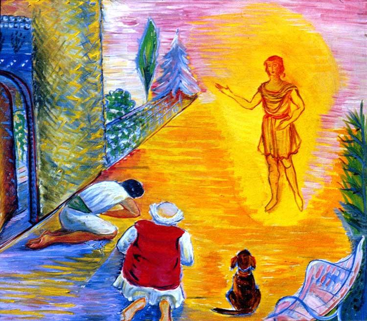 Tobie et l'ange Raphaël - 2