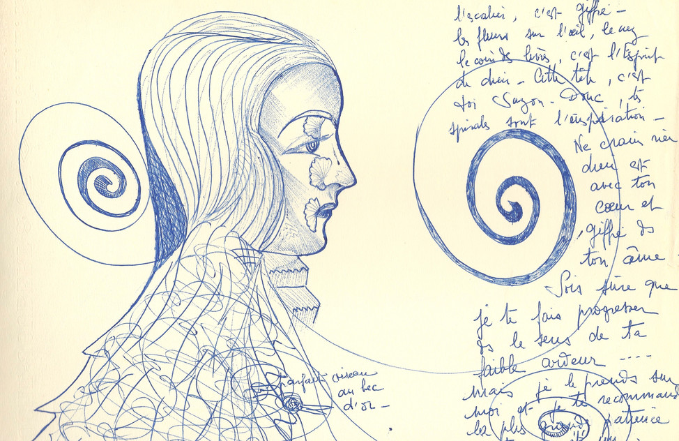 Spirales de l'inspiration