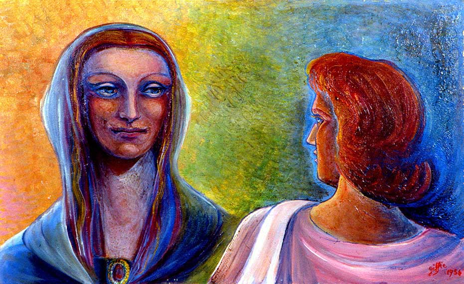 Marie retrouve Jésus