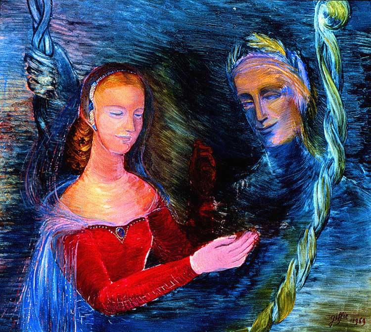 Dante et Béatrice