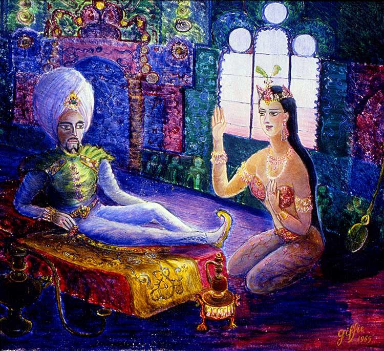 Sheryar et Sheherazade