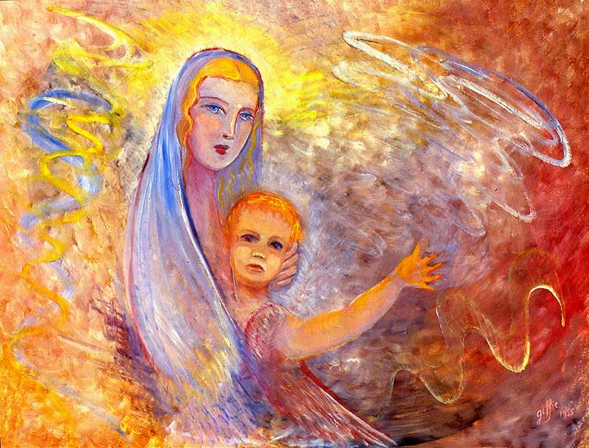 Vierge et l'enfant Jésus