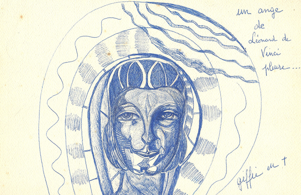 Ange de Léonard de Vinci