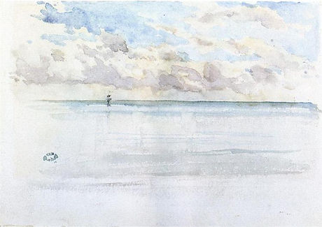 Seascape Dieppe by James McNeill Whistler
