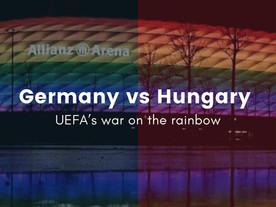 Germany VS Hungary | UEFA's war on the rainbow
